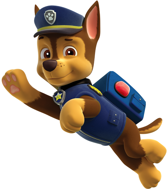 chase paw patrol clipart png 5