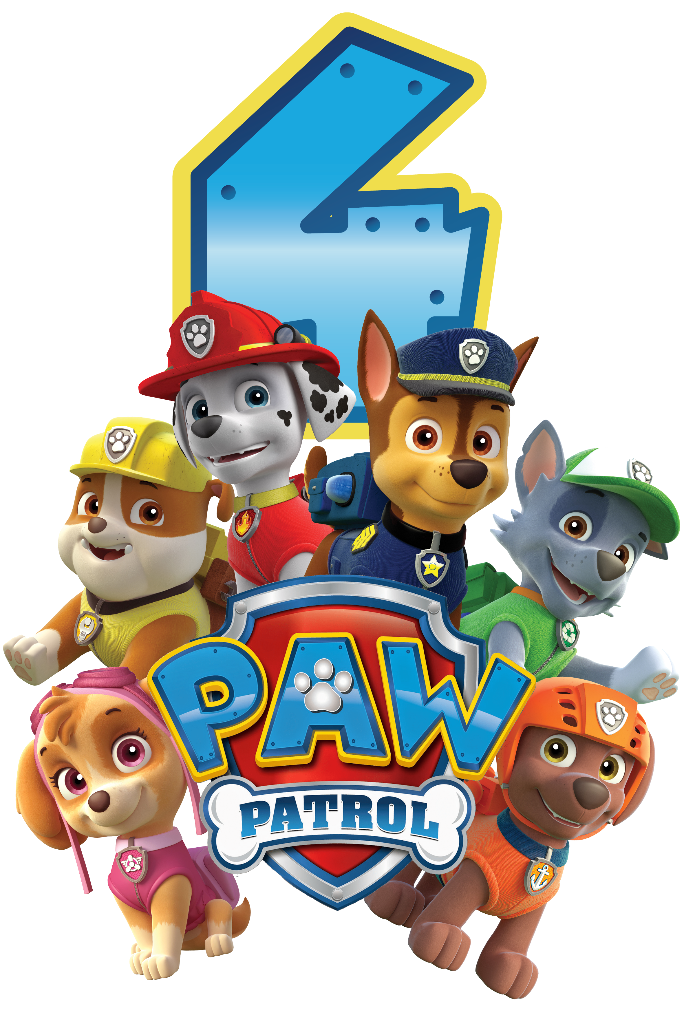 Paw Patrol All Character Png Kids 5