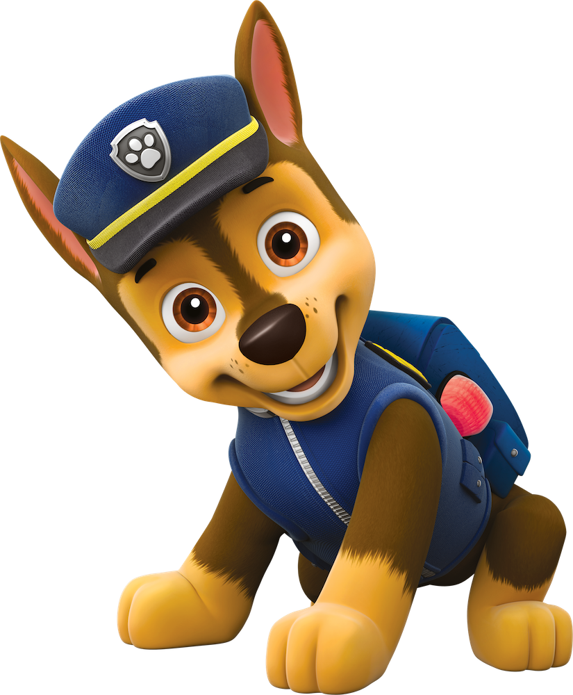 chase paw patrol clipart png 6