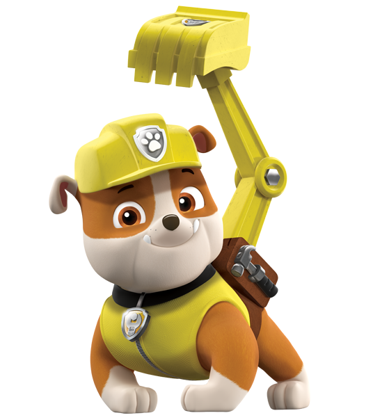 rubble paw patrol png clipart 2
