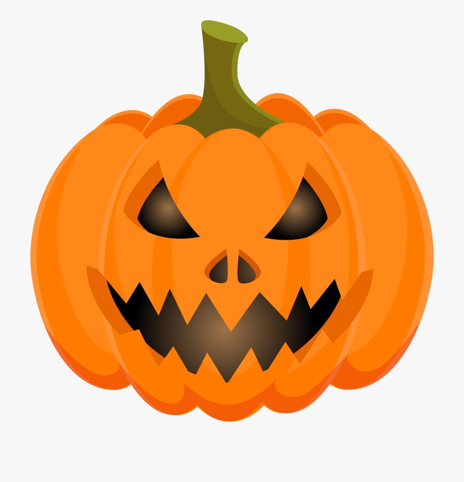Halloween Clipart Pumpkin Clipart Jack O Lantern Scary