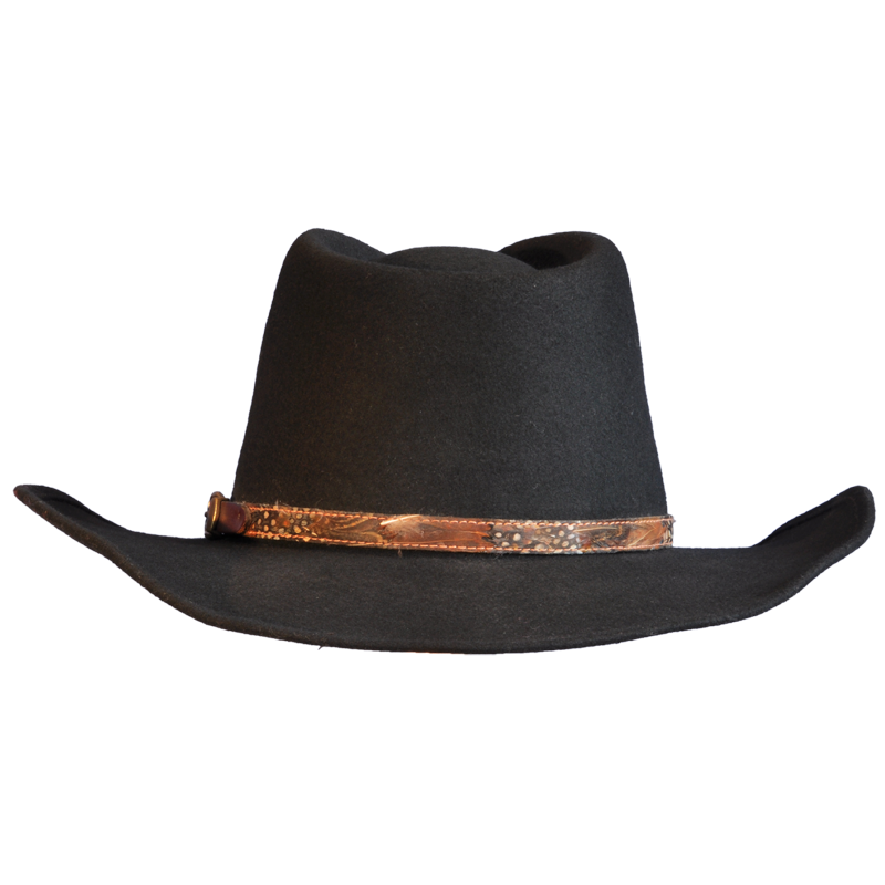 Black Cowboy Hat PNG