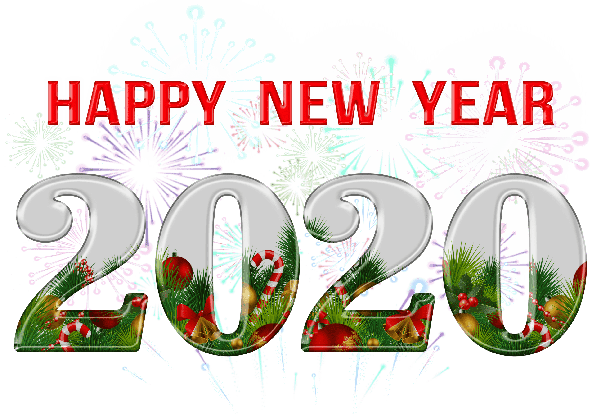 Happy New Year Clipart 2020.Happy New Year 2020 Png Clipart