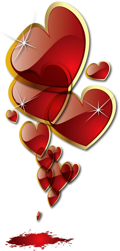 Decorative Hearts  Clipart Elements