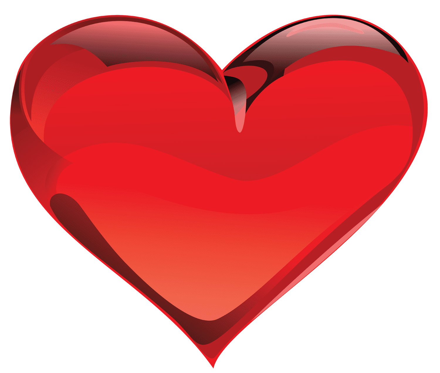 Large Red Heart Clipart 1138945212