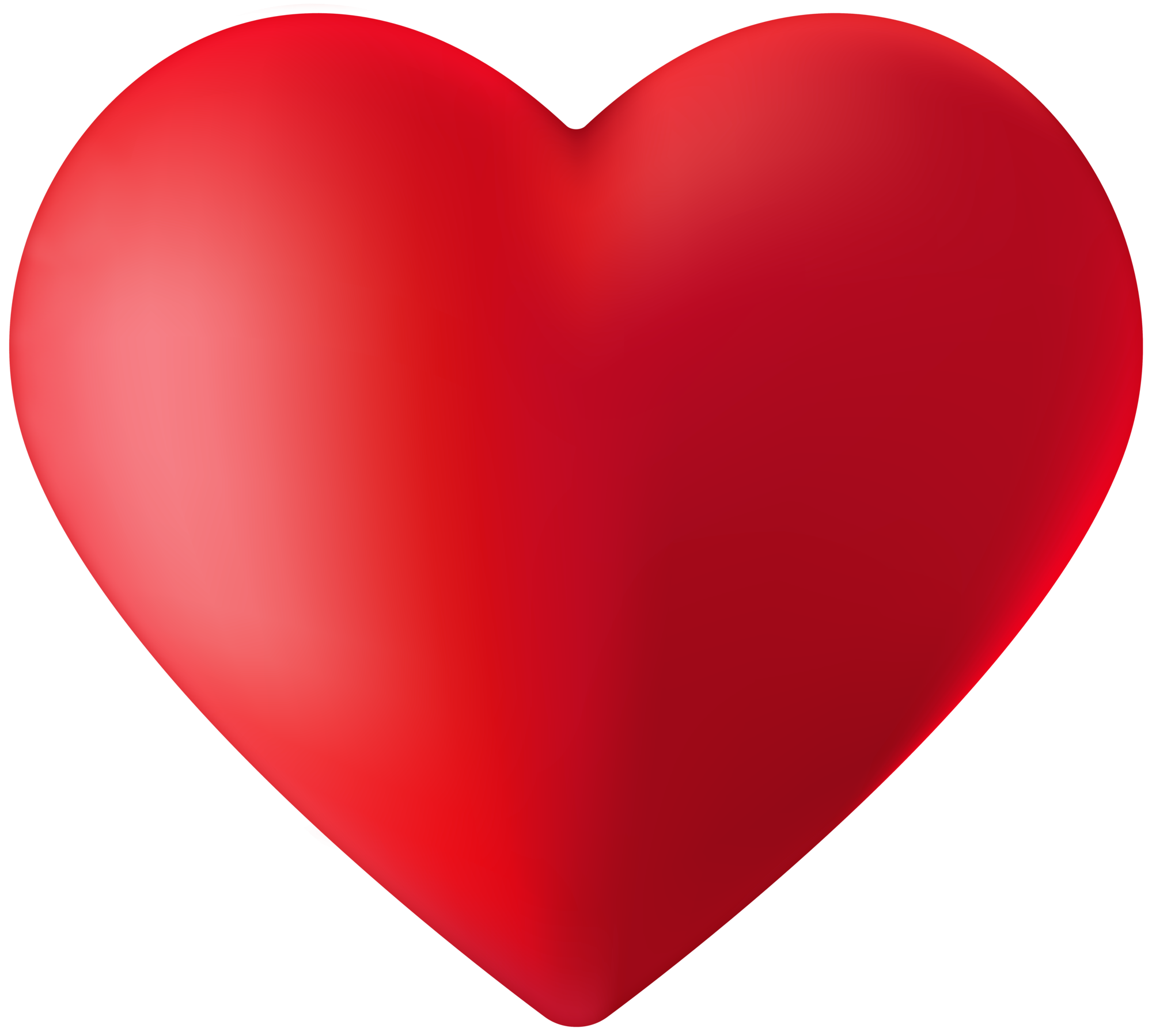 clean beautiful heart png