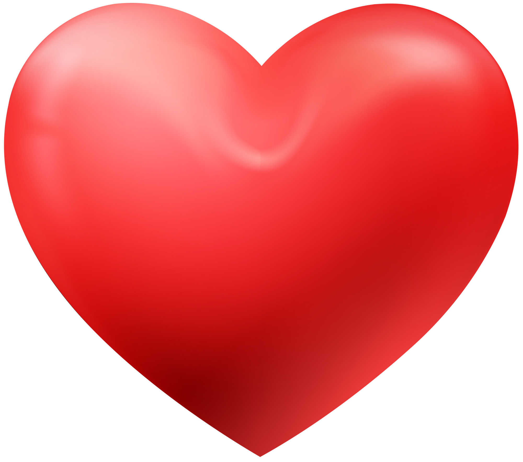 beautiful 3d heart png image