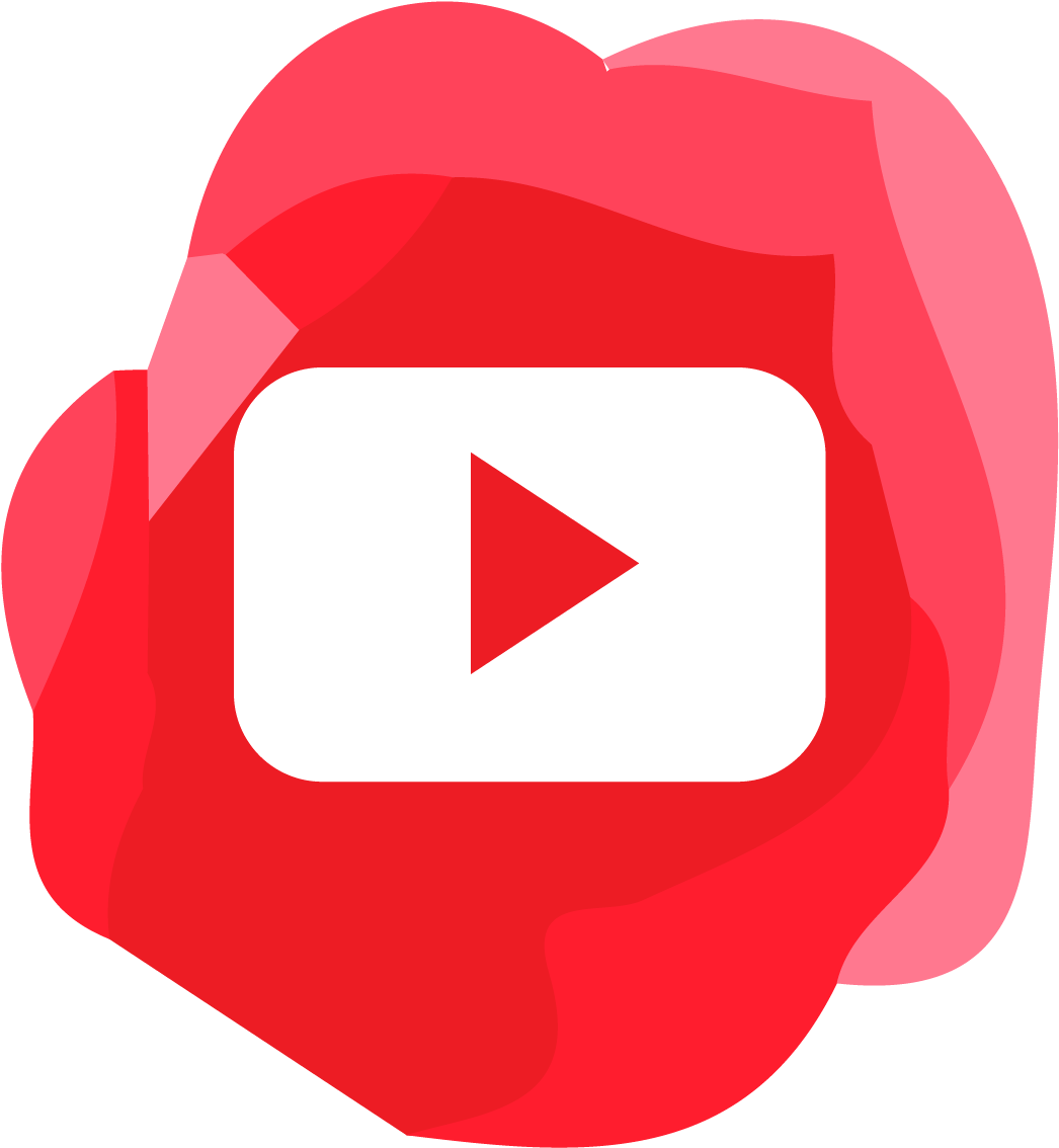 Youtube Yt Logo Png Abstract Red Background