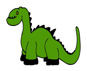 Baby dinosaur clip art free clipart images