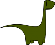 Dinosaur free to use clipart
