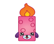 Flicker candle variant art shopkins clipart free image