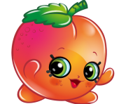 April apricot art official shopkins clipart free image