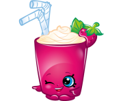 Berry smoothie art official shopkins clipart free image