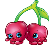 Cheeky cherries art official shopkins clipart free image