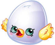 Eggchic art official shopkins clipart free image
