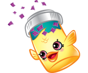 Fish flake jake art official shopkins clipart free image