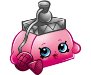 Pretty puff art official shopkins clipart free image