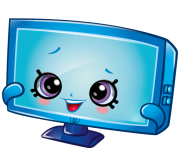 Tammy tv art official shopkins clipart free image