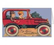 greetings valentine s day 14754 couple in antique car car pictures bWy4cL clipart