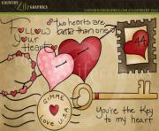country life graphics follow your heart valentine clipart T0kTVW clipart