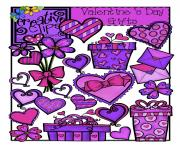 the creative chalkboard valentine clipart sale 2 00 and 1 00 sets XP07e0 clipart