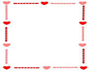 heart and candy border by cuteeverything border for valentine s day xPXwPZ clipart