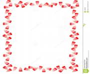 candy corn border perfect for valentine s day sweet candy frame j85L25 clipart