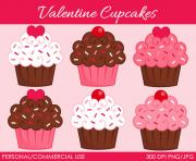 valentine s cupcakes 2 clipart digital clip art graphics for tDFYyc clipart