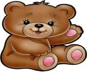Teddy bear valentine cliparts