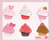 clip art valentine s day cupcakes by sonyadehart d4wc5to jpg CpIAms clipart