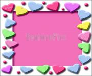 border clip candy heart valentine hearts clipart twwlit clipart