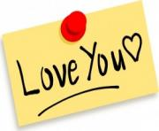 love clipart thumbtack note love you clip art 23272