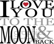 love clipart 1451840 I love you to the moon and back vector art vinyl ready