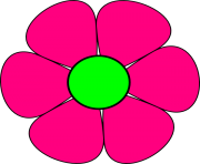 free pink flowers clipart