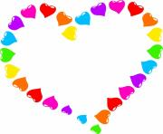 Free hearts clipart clipart clipartcow