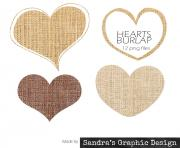 burlap clipart burlap hearts with 12 burlap hearts 4 shapes 3 lCNKas clipart