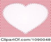 clipart white doily heart over pink with white hearts royalty free 3u0SuA clipart