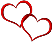 Floating Heart Clipart Free PNG Image Illustoon