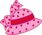 Pink hat with hearts pink hat hats and clip art free