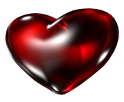 heart png red dark