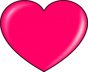 heart png clipart pink
