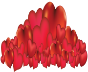 Bunch of Heart PNG Clipart
