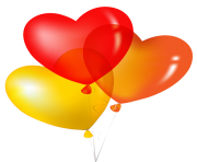 heart png balloon