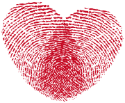 Heart Print PNG Clipart