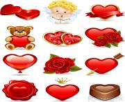 cartoon valentine s day icon clipart image free