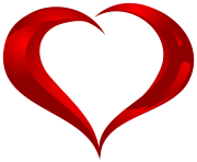 Beautiful Heart PNG clipart