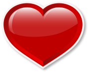 Heart_Valentines red colour png