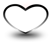 heart png black
