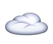 ios emoji cloud