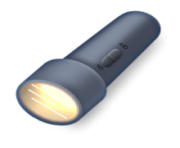 ios emoji electric torch